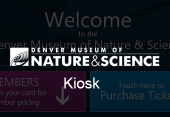 Image for link Denver Museum of Nature and Science Kiosk